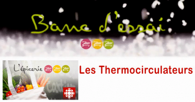 Banc d'essai de 4 thermocirculateurs