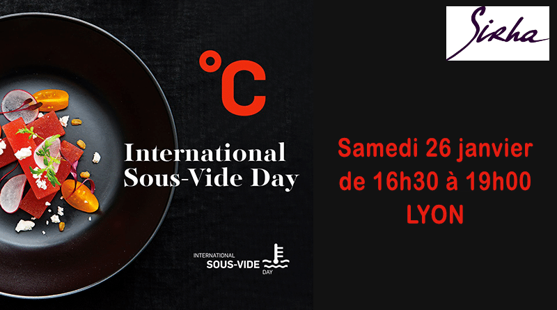 2ème édition de l'International Sous-Vide Day